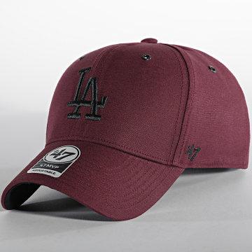'47 Brand - Casquette MVP Adjustable Los Angeles Dodgers Bordeaux