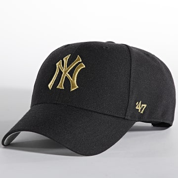 '47 Brand - Casquette MVP Adjustable New York Yankees Noir Doré