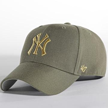 '47 Brand - Casquette MVP Adjustable New York Yankees Vert Kaki Doré