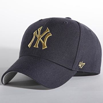 '47 Brand - Casquette MVP Adjustable New York Yankees Bleu Marine Doré