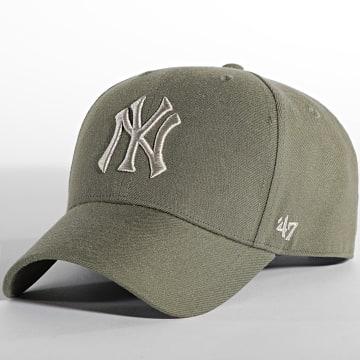 '47 Brand - Casquette MVP Adjustable New York Yankees Vert Kaki