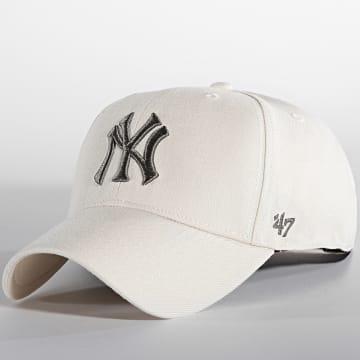 '47 Brand - Casquette MVP Adjustable New York Yankees Beige
