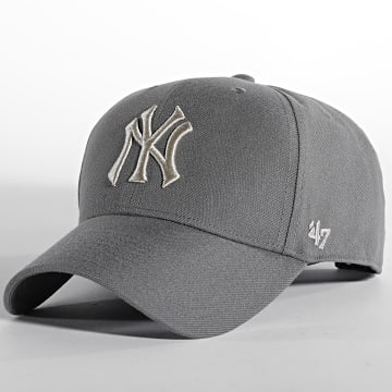 '47 Brand - Casquette MVP Adjustable New York Yankees Gris