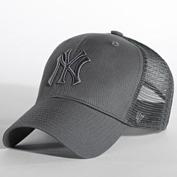 '47 Brand - Casquette Trucker MVP Adjustable New York Yankees Gris