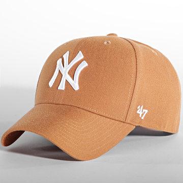 '47 Brand - Casquette MVP Adjustable New York Yankees Caramel