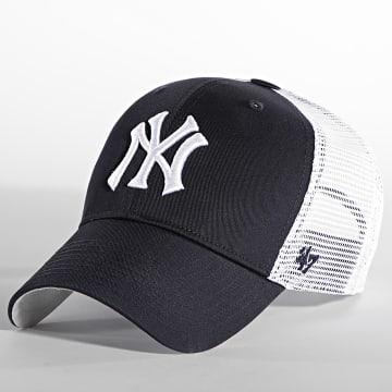 '47 Brand - Casquette Trucker MVP Adjustable New York Yankees Bleu Marine Blanc