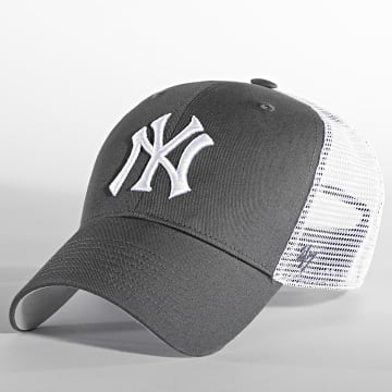 '47 Brand - Casquette Trucker MVP Adjustable New York Yankees Gris Blanc