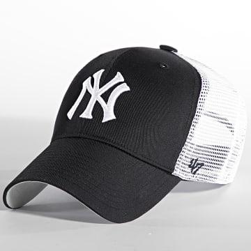'47 Brand - Casquette Trucker MVP Adjustable New York Yankees Noir Blanc