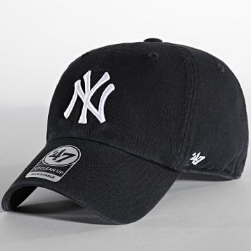 '47 Brand - Casquette C47 CleanUp Adjustable New York Yankees Noir