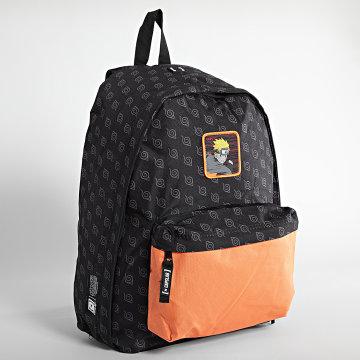 Capslab - Sac A Dos Naruto Noir Orange