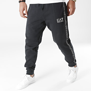 Emporio Armani - Pantalon Jogging A Bandes 6KPP61-PJ07Z Bleu Marine