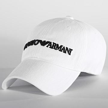 Emporio Armani - Casquette 627901 Blanc