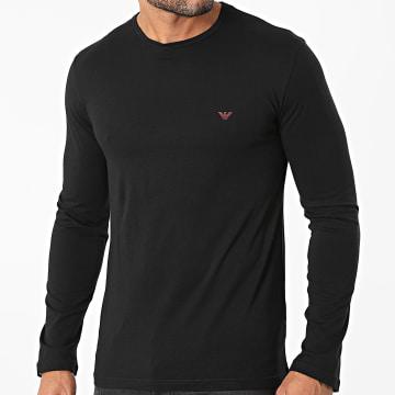 Emporio Armani - Tee Shirt Manches Longues 111653-1A722 Noir