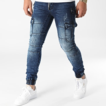 MTX - Jogger Pant Jean 9601 Bleu Denim