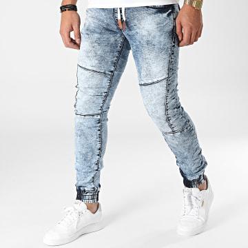 MTX - Jogger Pant Jean E7631 Bleu Wash