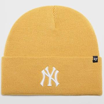 '47 Brand - Bonnet New York Yankees Jaune Moutarde
