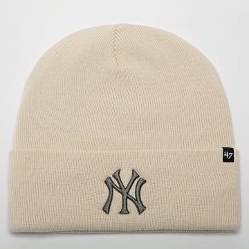 '47 Brand - Bonnet New York Yankees Beige