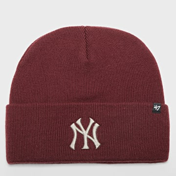 '47 Brand - Bonnet New York Yankees Bordeaux