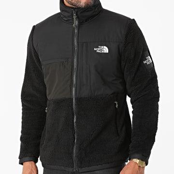 The North Face - Veste Zippée Fourrure BB Denali Sherpa A55I7 Noir