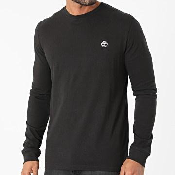 Timberland - Tee Shirt Manches Longues A2BQ3 Noir