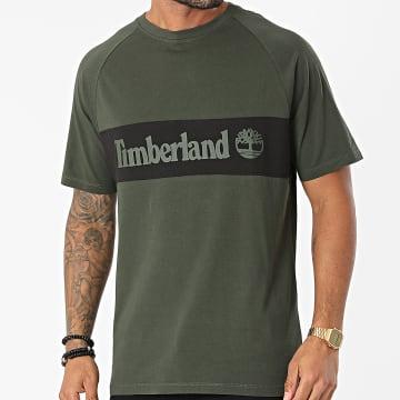 Timberland - Tee Shirt A22K4 Vert Kaki