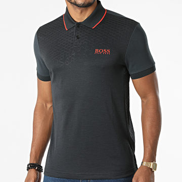 BOSS - Polo Manches Courtes Pauletech 1 50456116 Gris Anthracite