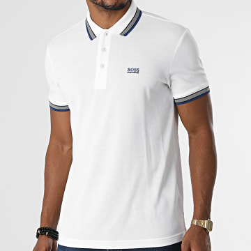 BOSS - Polo Manches Courtes Paddy 50398302 Ecru