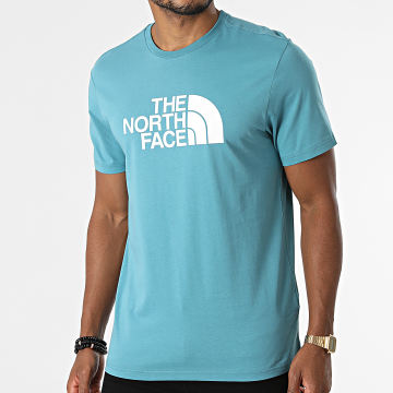 The North Face - Tee Shirt Easy A2TX3 Bleu Clair
