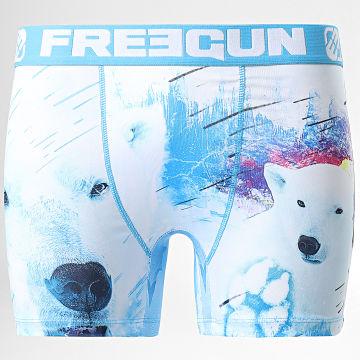 Freegun - Boxer Polar Bear Blanc