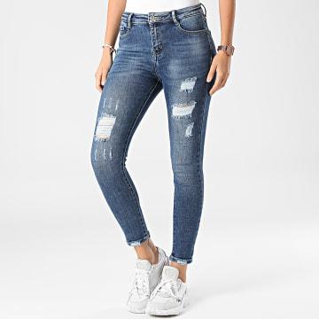 Girls Outfit - Jean Slim Femme A179 Denim