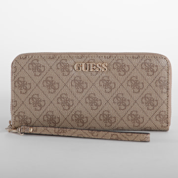 Guess - Portefeuille Femme Alby Beige