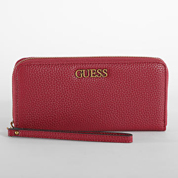 Guess - Portefeuille Femme Alby Rouge