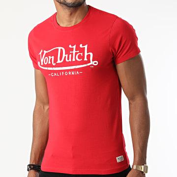 Von Dutch - Tee Shirt Life Rouge