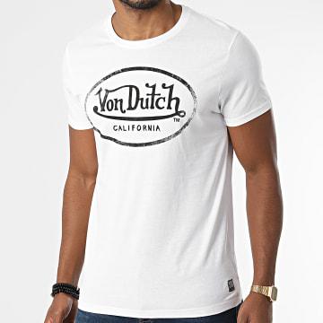 Von Dutch - Tee Shirt Aaron Blanc