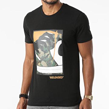 Luxury Lovers - Tee Shirt Released Camouflage Noir