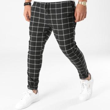 Uniplay - Pantalon A Carreaux 3671 Noir