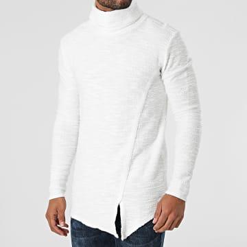 Uniplay - Pull Col Roulé UP-T832 Blanc