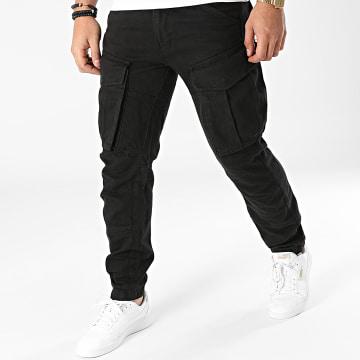 2Y Premium - Pantalon Cargo ES8076 Noir