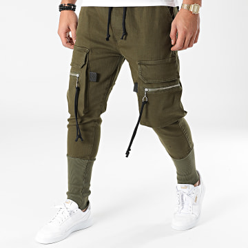 2Y Premium - Jogger Pant Jean ES8068 Vert Kaki