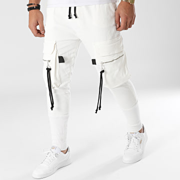 2Y Premium - Jogger Pant Jean ES8068 Blanc