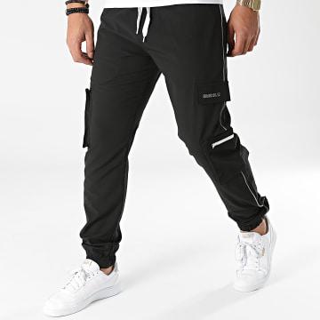 2Y Premium - Pantalon Jogging P2026 Noir Réfléchissant
