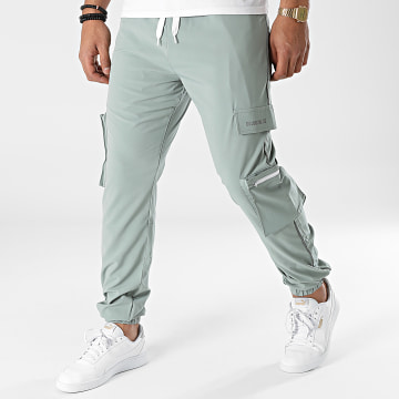 2Y Premium - Pantalon Jogging P2026 Vert Clair Réfléchissant