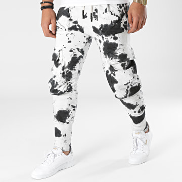 2Y Premium - Pantalon Jogging ES8080 Blanc Noir