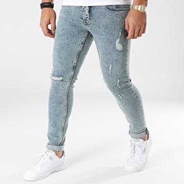 2Y Premium - Jean Skinny B6173 Bleu Denim