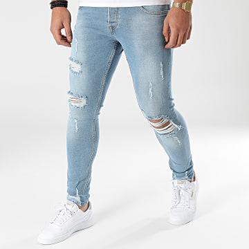 2Y Premium - Jean Skinny B6238 Bleu Denim