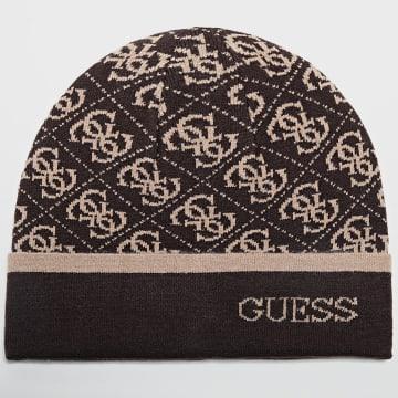 Guess - Bonnet AM8863 Marron