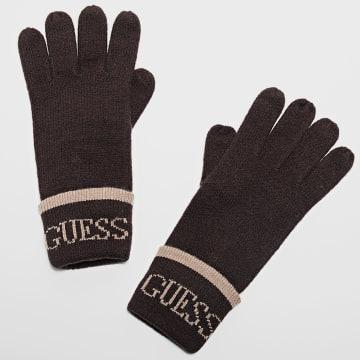 Guess - Gants AM8864 Marron