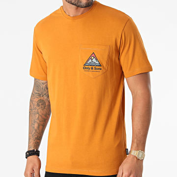 Only And Sons - Tee Shirt Ben Life Camel