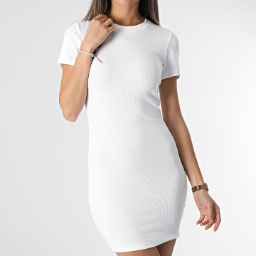 Only - Robe Femme Clean Life Blanc