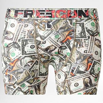 Freegun - Boxer Money Vert